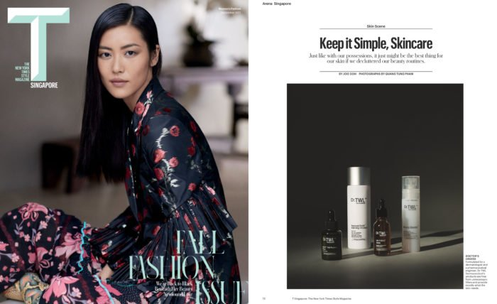 T Magazine - Making the switch to Cosmeceuticals according to a dermatologist