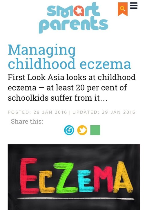 Smart Parents - Managing Childhood Eczema