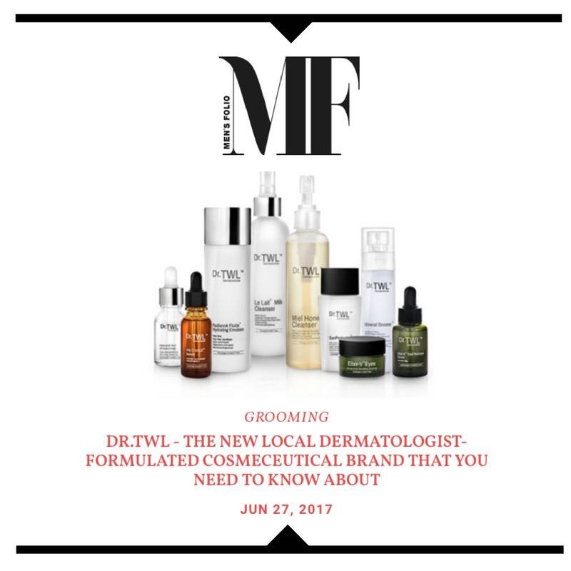 Mens Folio - The New Local Dermatologist Formulated Cosmeceutical Brand