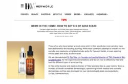 HerWorld Dermatologist Tips Smoothen Skin