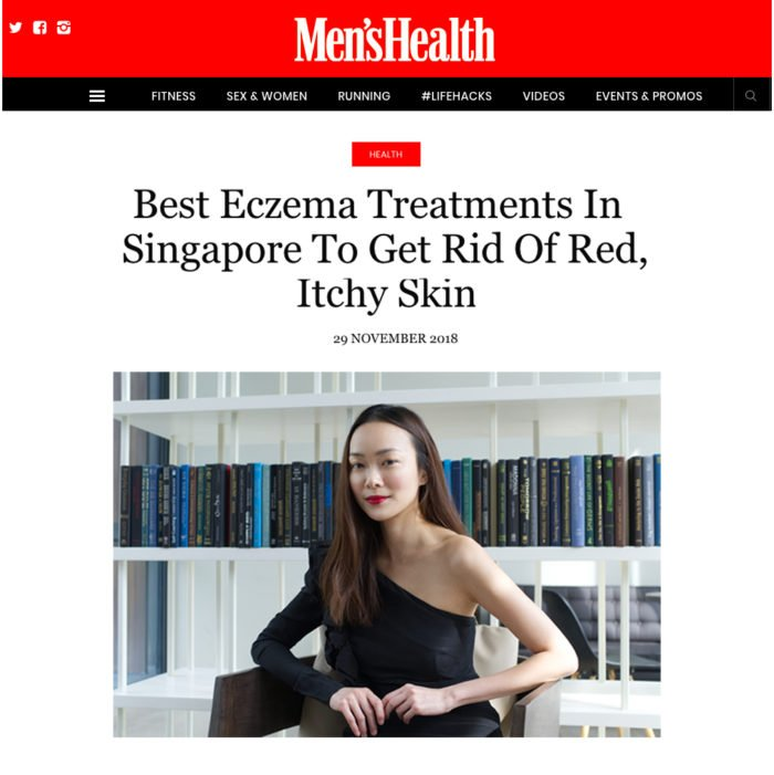 Dermatologist Dr Teo Wan Lin Best Eczema Treatments Singapore Men's Health