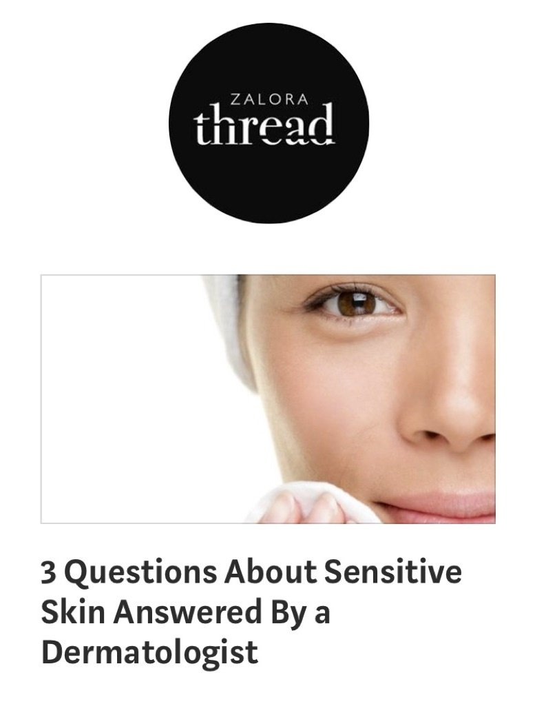 THREAD BY ZALORA - 3 Questions About Sensitive Skin Answered by Dermatologist Singapore