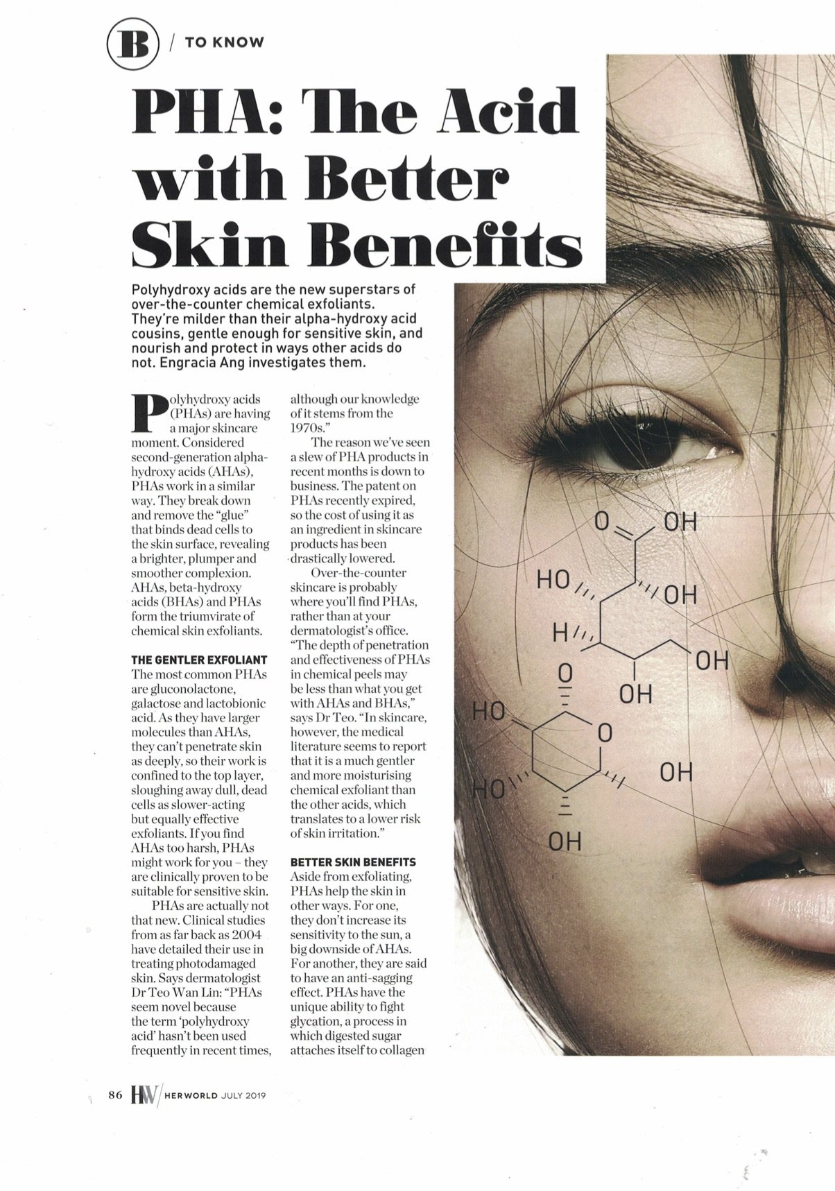 PHA: The Acid with Better Skin Benefits - Pg 1 - Dermatologist Shares
