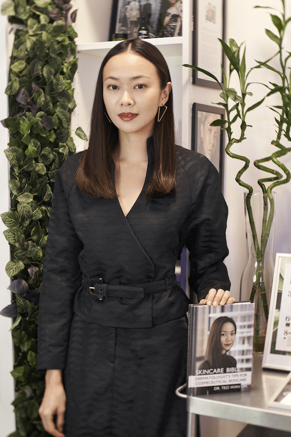 Dermatologist Dr Teo Wan Lin - V-shaped Face